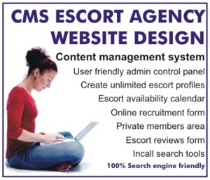 Escort Agency CMS Website Design
