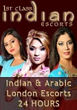 1st Class Indian Escorts